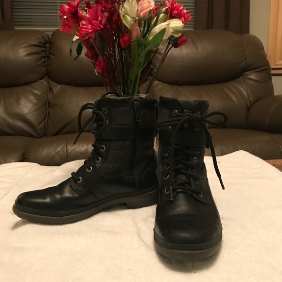 5db86865f5a UGG Kesey Vintage Waterproof Combat Boot.